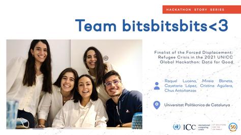 Un equip d'estudiantes del grau en Ciència i Enginyeria de Dades de la UPC, finalistes del UNICCHackathon2021